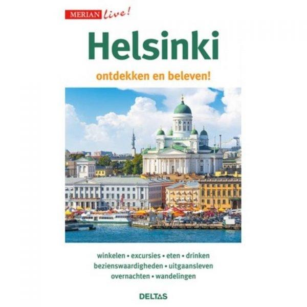 Helsinki ontdekken en beleven! 9789044753783  Deltas Merian Live reisgidsjes  Reisgidsen Finland