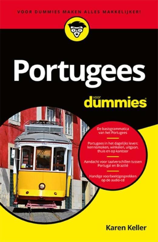 Portugees voor Dummies, pocketeditie 9789045351544  Pearson   Taalgidsen en Woordenboeken Brazilië, Portugal