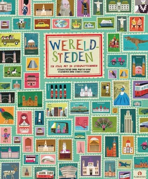Wereldsteden 9789047622840 Georgia Cherry Rubinstein   Kinderboeken, Reisgidsen Wereld als geheel