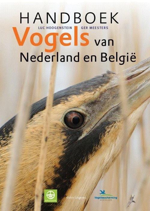 Handboek Vogels van Nederland en België 9789050115803 Luc Hoogenstein, Ger Meesters KNNV   Natuurgidsen, Vogelboeken Nederland