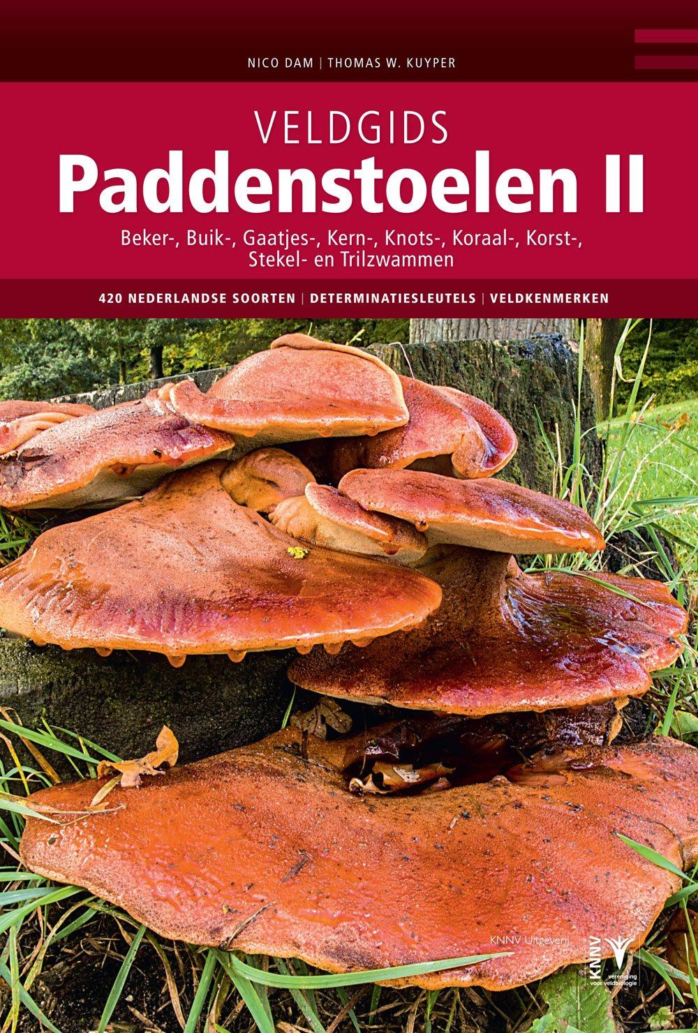 Veldgids Paddenstoelen deel II 9789050115919 Nico Dam, Thomas W. Kuyper KNNV   Natuurgidsen Benelux