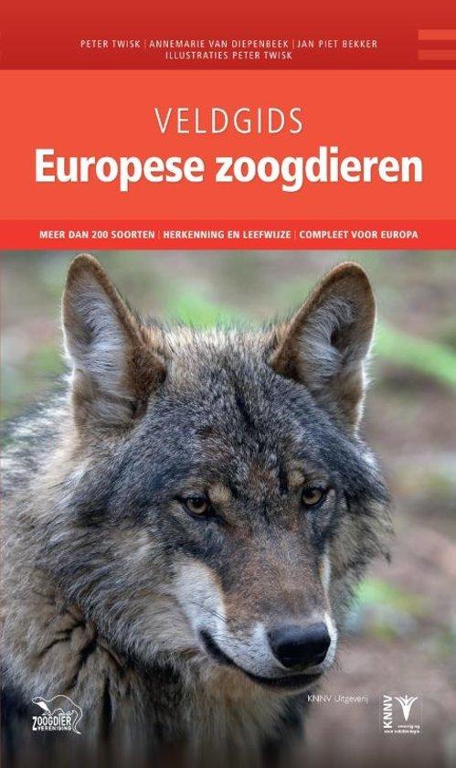 Veldgids Europese Zoogdieren 9789050116879  KNNV Veldgidsen  Natuurgidsen Europa