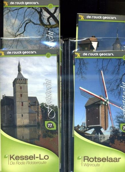 Hageland: Leuven - Tienen (710) 9789052087108  De Rouck - Geocart   Fietskaarten Vlaanderen & Brussel