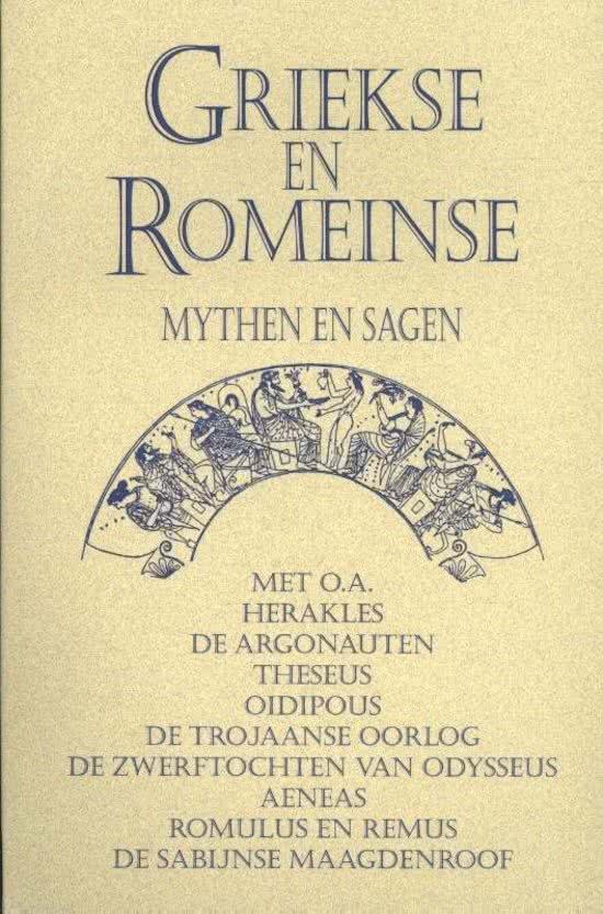 Griekse en Romeinse Mythen en Sagen 9789055134021  Ruitenberg   Historische reisgidsen, Landeninformatie Zuid-Europa / Middellandse Zee