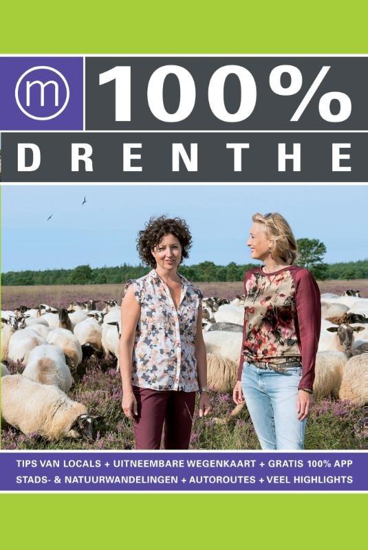 100% Drenthe 9789057677403  Mo Media   Reisgidsen Drenthe