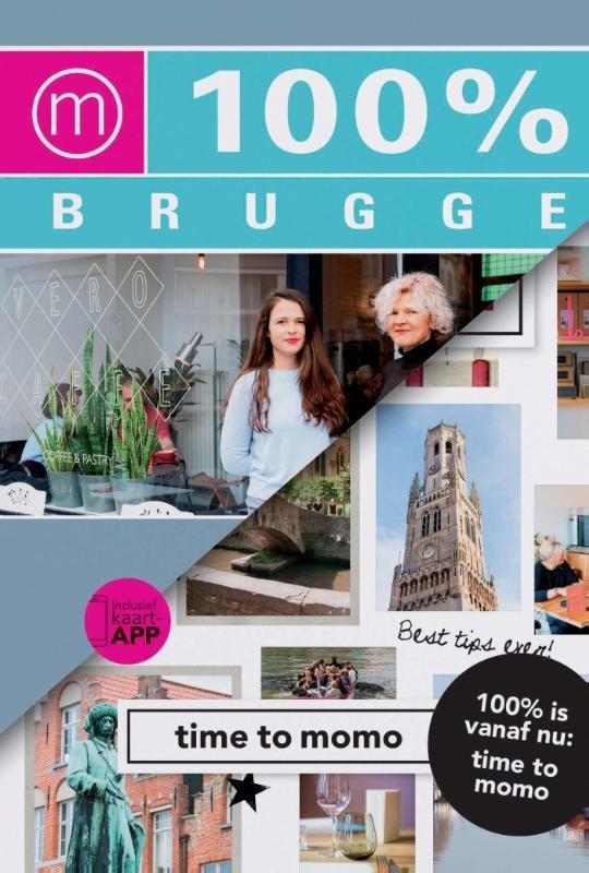 Time to Momo Brugge (100%) 9789057677502  Mo Media Time to Momo  Reisgidsen Gent & Brugge