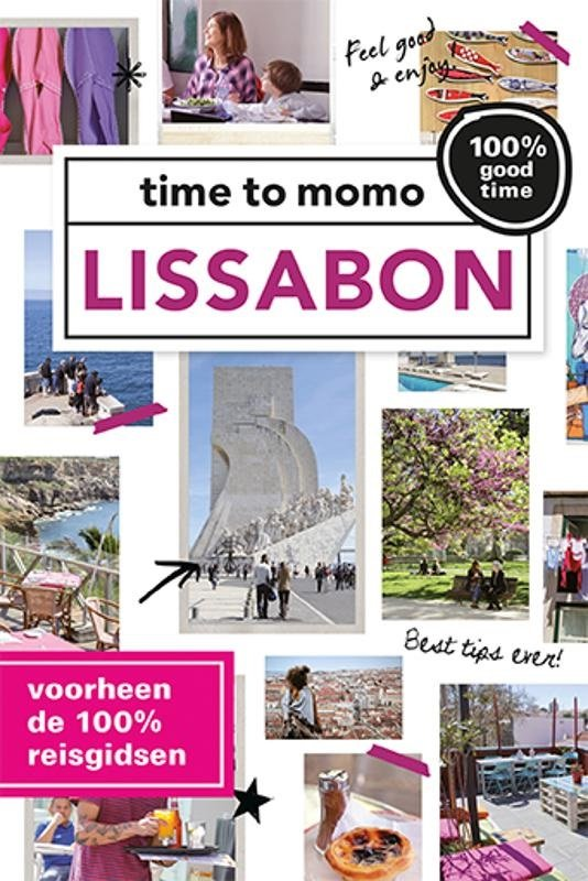 Time to Momo Lissabon (100%) 9789057678592  Mo Media Time to Momo  Reisgidsen Noord en Midden-Portugal, Lissabon