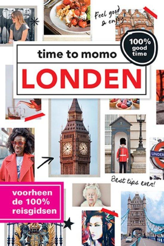 Time to Momo Londen (100%) 9789057678769  Mo Media Time to Momo  Reisgidsen Londen