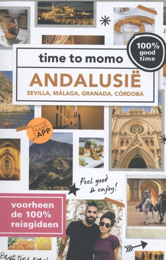 Time to momo Andalusië | reisgids 9789057678813  Mo Media Time to Momo  Reisgidsen Andalusië