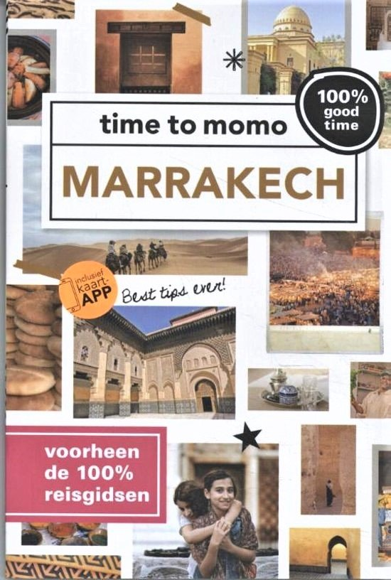 Time to Momo Marrakech (100%) 9789057678844  Mo Media Time to Momo  Reisgidsen Marokko