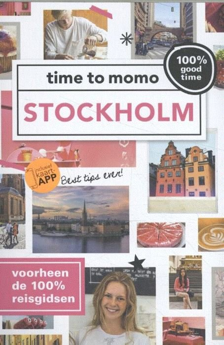Time to Momo Stockholm (100%) 9789057678851  Mo Media Time to Momo  Reisgidsen Zuid-Zweden