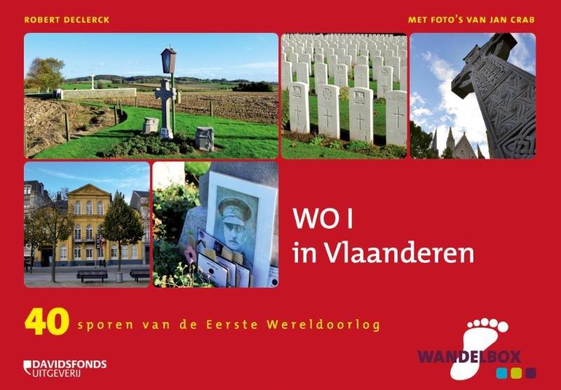 Wandelbox WO I in Vlaanderen 9789058269959  Davidsfonds   Historische reisgidsen, Wandelgidsen Vlaanderen & Brussel