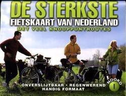 De Sterkste Fietskaart van NL (1:200.000): Noord en Midden 9789058810144  Buijten & Sch./Smulders DSF  Fietskaarten Nederland, Noord Nederland