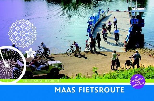 Maas Fietsroute 9789058815347 Diederik Mönch Buijten & Schipperheijn meerdaagse fietsroutes (NL)  Fietsgidsen, Meerdaagse fietsvakanties Maastricht en Zuid-Limburg, Noord- en Midden-Limburg