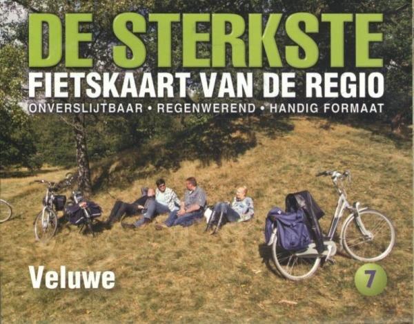 DSF-07 De sterkste fietskaart Veluwe 1:50.000 9789058816283  Buijten & Schipperheijn DSF  Fietskaarten Arnhem en de Veluwe