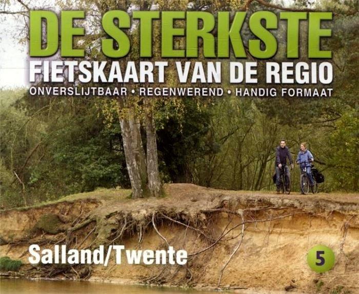DSF-05  De sterkste fietskaart van Salland en Twente 1:50.000 9789058817112  Buijten & Schipperheijn DSF  Fietskaarten Kop van Overijssel, Vecht & Salland, Twente