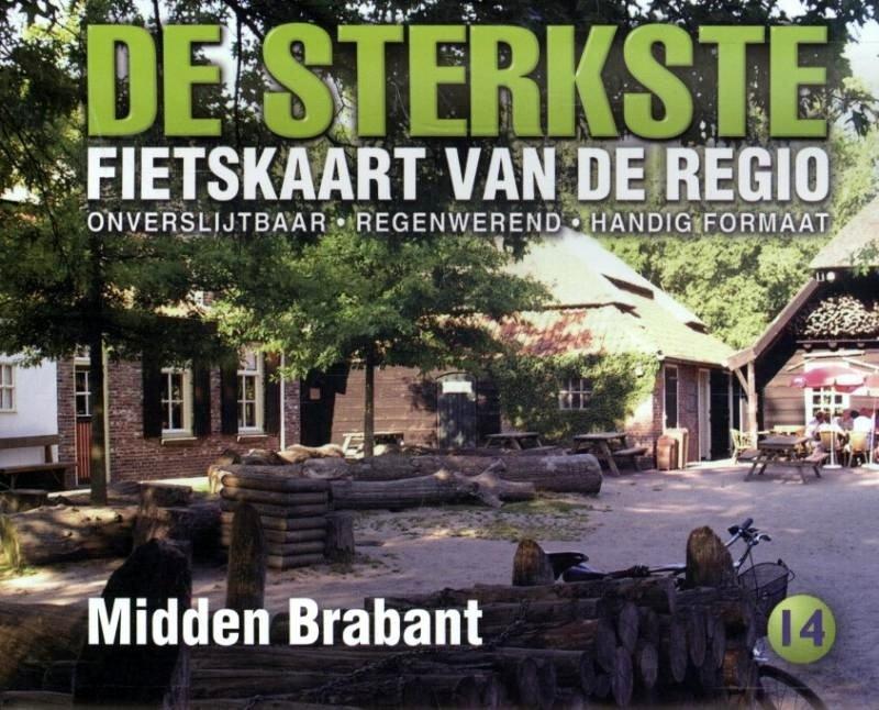 DSF-14 De sterkste fietskaart van Midden Brabant 1:50.000 9789058817174  Buijten & Schipperheijn DSF  Fietskaarten Noord-Brabant