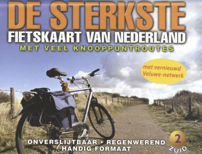 De Sterkste Fietskaart van NL (1:200.000): Midden en Zuid 9789058819840  Buijten & Sch./Smulders DSF  Fietskaarten Nederland, Zuid Nederland