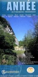 NV030 Anhée 1:25.000 9789059340206  NGI NGI/VVV-kaarten 25d  Wandelkaarten Wallonië (Ardennen)