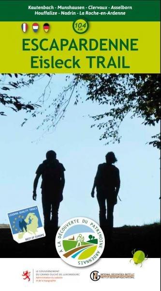 Escapardenne Eisleck Trail, kaart 1:25.000 9789059349933  NGIB   Wandelkaarten Wallonië (Ardennen)