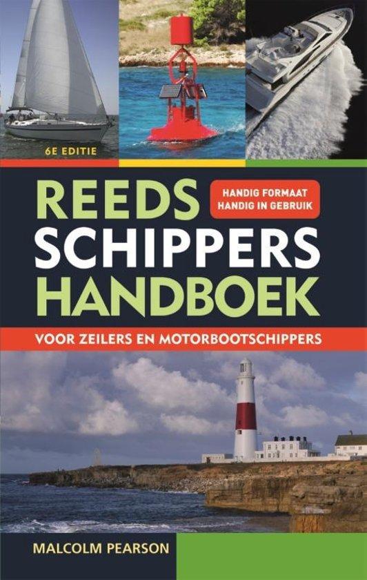 Reeds Schippershandboek 9789059610989  De Alk   Watersportboeken Zeeën en oceanen