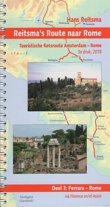 Reitsma's Route naar Rome, deel 3 9789064558405  Pirola Pirola fietsgidsen  Fietsgidsen, Meerdaagse fietsvakanties Italië