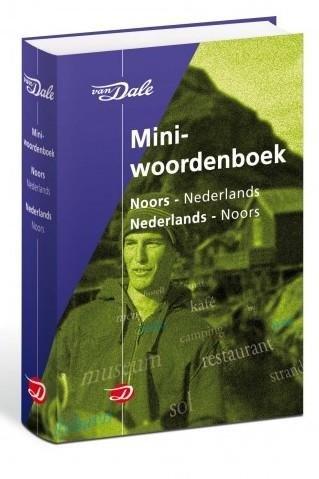 Noors - Nederlands v.v. | miniwoordenboek 9789066483323  Van Dale Miniwoordenboek  Taalgidsen en Woordenboeken Noorwegen