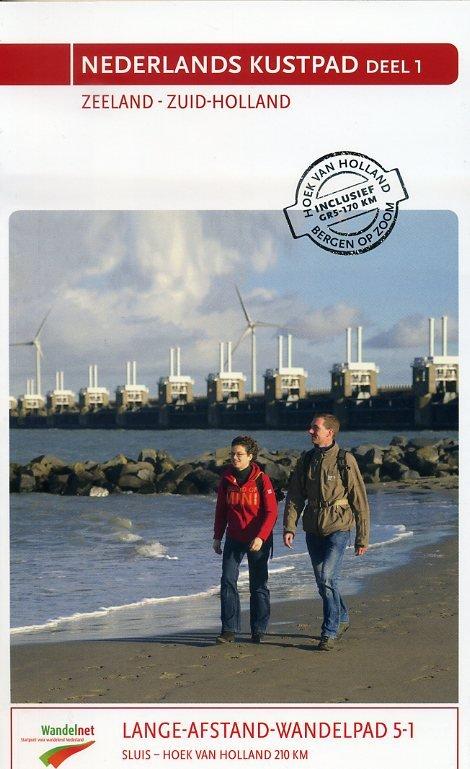 GR-5 | LAW 5-1 Nederlands kustpad (Deltapad) 9789071068904  Nivon LAW-Gidsen  Wandelgidsen, Meerdaagse wandelroutes Den Haag, Rotterdam en Zuid-Holland, Zeeland