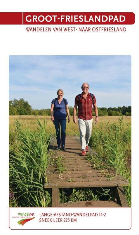 LAW 14  Groot-Frieslandpad 9789071068966 Sietske de vet, Flip van Doorn Wandelnet LAW-Gidsen  Meerdaagse wandelroutes, Wandelgidsen Nederland, Noord Nederland