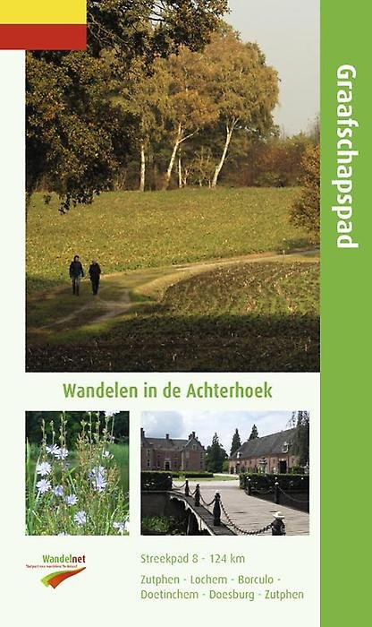 SP-08  Graafschapspad | Streekpad wandelgids 9789071068980  Wandelnet Streekpaden  Meerdaagse wandelroutes, Wandelgidsen Gelderse IJssel en Achterhoek
