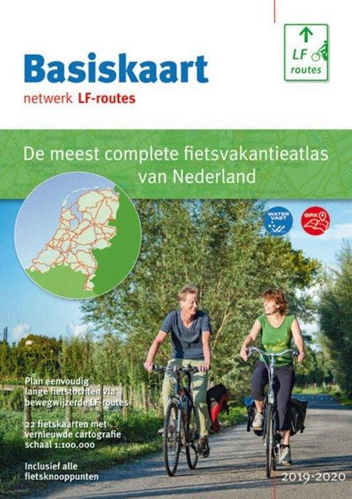 Basiskaart Netwerk LF-routes 9789072930606  Buijten & Schipperheijn Landelijk Fietsplatform  Cadeau-artikelen, Fietskaarten, Meerdaagse fietsvakanties Nederland