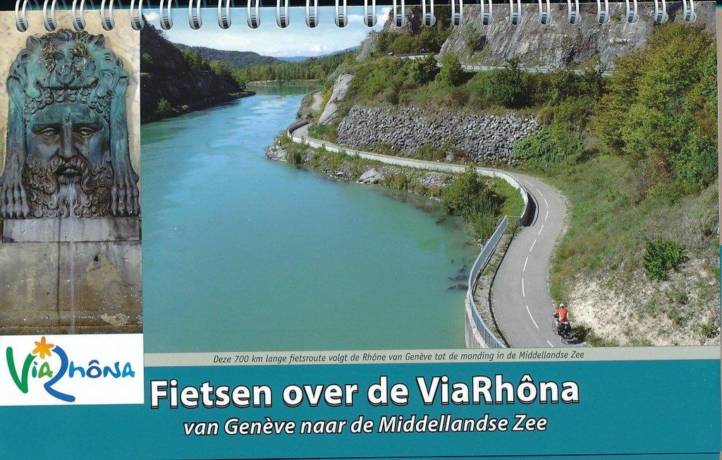 ViaRhôna | Fietsen langs de Rhone 9789077056370  ReCreatief Fietsen   Fietsgidsen, Meerdaagse fietsvakanties Rhône, Alpen, Corsica