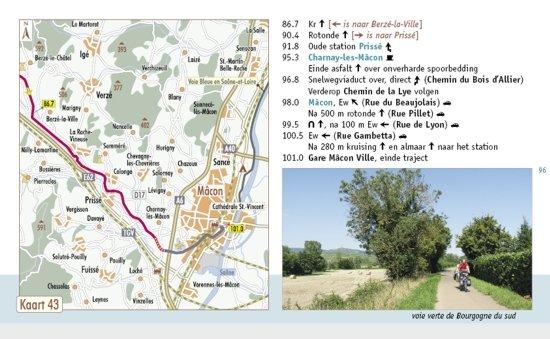 Fietsen in Bourgondië 9789077056387 Luc Oteman ReCreatief Fietsen   Fietsgidsen Bourgogne, Morvan, Côte-d'Or