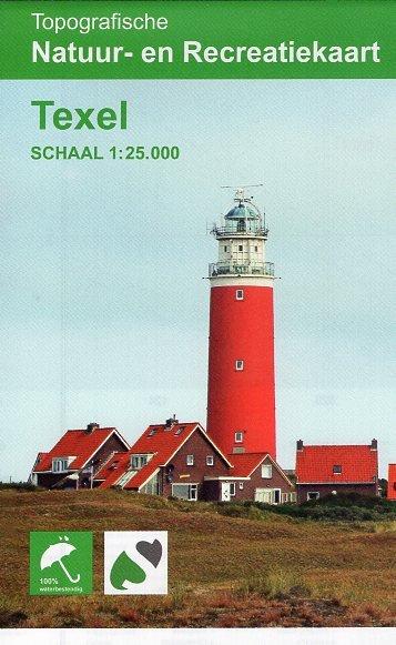 Texel 1:25.000 9789077350959  K&A   Wandelkaarten Waddeneilanden en Waddenzee