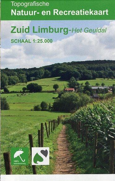 Zuid-Limburg 1:25.000 9789077350997  K&A   Wandelkaarten Maastricht en Zuid-Limburg