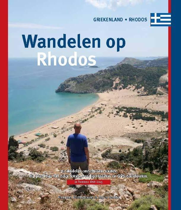 Wandelen op Rhodos 9789078194255 Paul van Bodengraven en Marco Barten Smaakmakers / One Day Walks   Wandelgidsen Egeïsche Eilanden