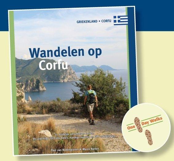 Wandelen op Corfu (Korfoe) 9789078194330 Paul van Bodengraven en Marco Barten Smaakmakers / One Day Walks   Wandelgidsen Ionische Eilanden (Korfoe, Lefkas, etc.)