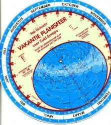 Planisfeer voor 40ste breedtegraad (Zuid-Europa) 9789080149625  Rob Walrecht   Natuurgidsen Zuid-Europa / Middellandse Zee
