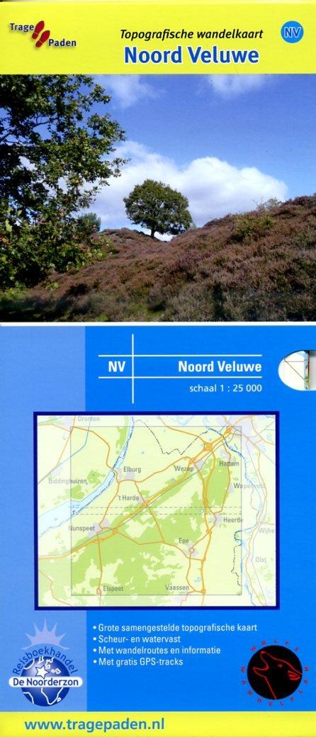 NV  Noord-Veluwe | wandelkaart 1:25.000 9789081396172 Rob Wolfs /  www.WolfsWandelplan.nl De Noorderzon Trage Paden  Wandelkaarten Arnhem en de Veluwe
