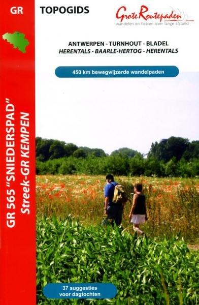 GR-565 Sniederspad | wandelgids 9789081396431  Grote Routepaden Topogidsen  Meerdaagse wandelroutes, Wandelgidsen Vlaanderen & Brussel