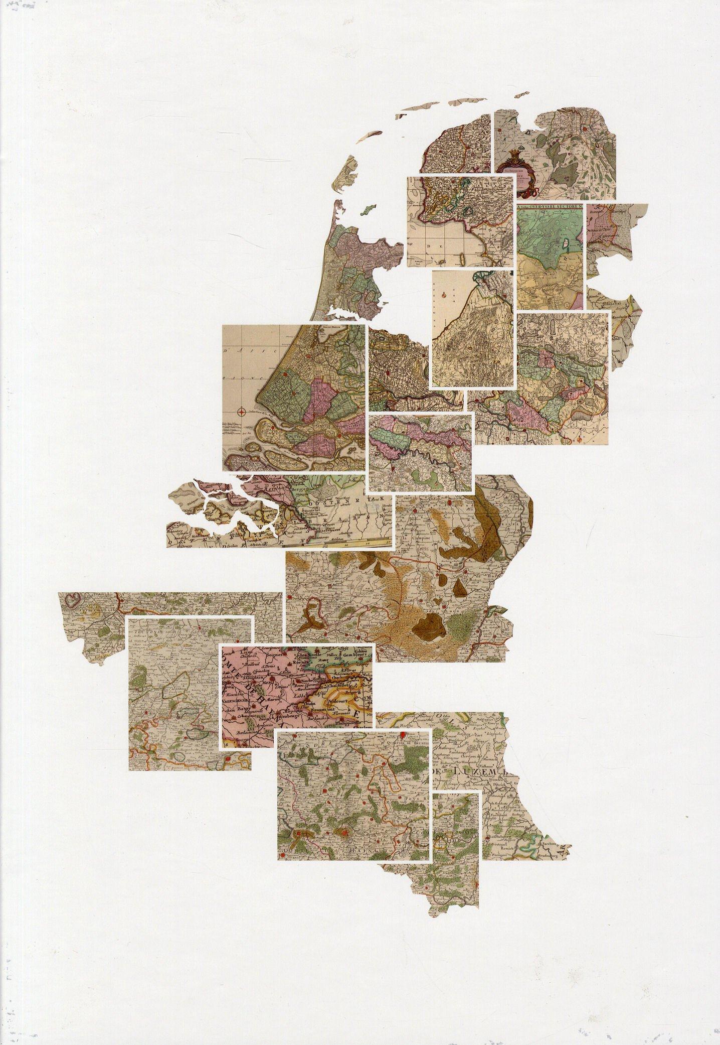 De Atlas der Neederlanden 9789081926447  WBooks   Historische reisgidsen, Landeninformatie Nederland