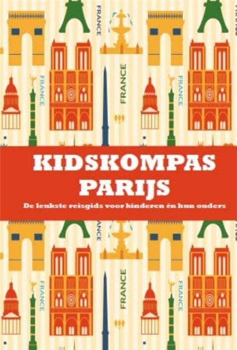 KidsKompas Parijs 9789081985239 Janneke van Amsterdam Cheeky Monkeys   Kinderboeken, Reisgidsen Parijs, Île-de-France