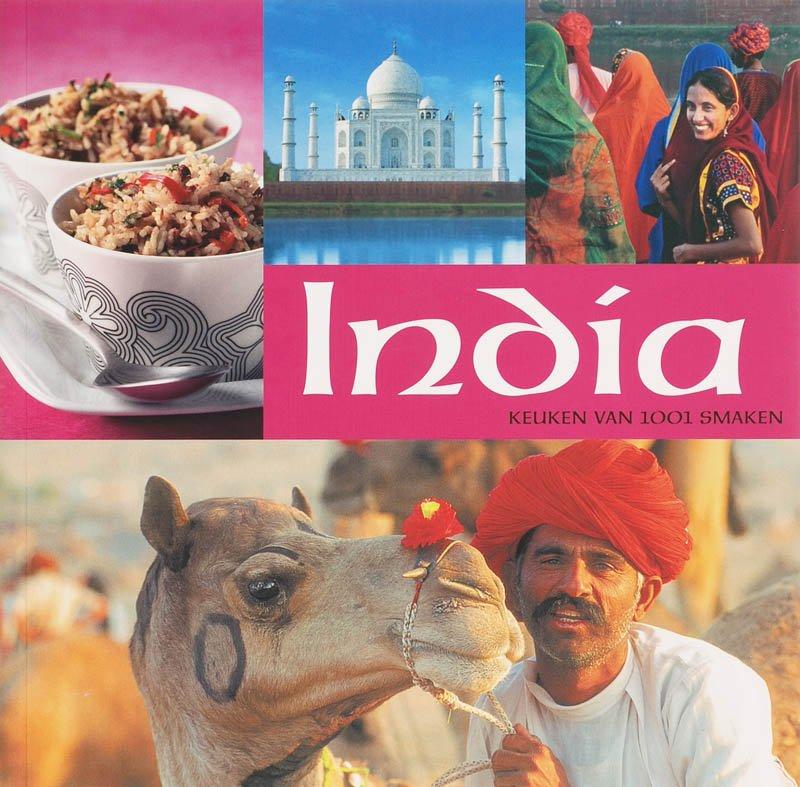 India keuken van 10001 smaken 9789087240066 S. de Clercq Caplan Publishing B.V.   Culinaire reisgidsen India