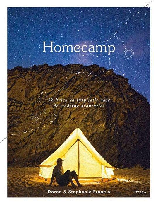 Homecamp 9789089897923 Francis, Doron Lannoo   Campinggidsen, Wandelgidsen Reisinformatie algemeen
