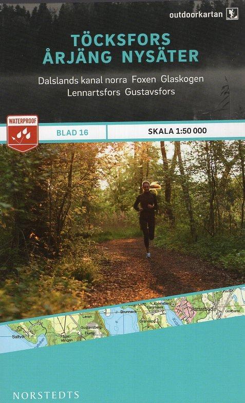 OK-16 Töcksfors Årjäng Nysäter 1:50.000 9789113068374  Norstedts Outdoorkartan (Fjällkartan)  Wandelkaarten Zuid-Zweden
