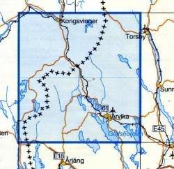 VK-130  Arvika 1:100.000 9789158801301  Kartförlaget - Lantmäteriet Vägkartan  Landkaarten en wegenkaarten Zuid-Zweden