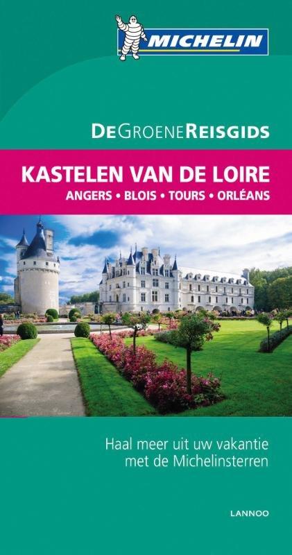 Kastelen aan de Loire   Michelin reisgids 9789401439442  Michelin Michelin Groene gidsen  Reisgidsen Poitou, Tours, Orléans, Bourges