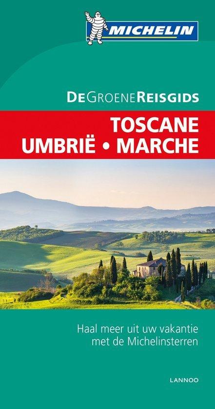Toscane - Umbrie | Michelin reisgids 9789401439541  Michelin Michelin Groene gidsen  Reisgidsen Toscane, Umbrië, de Marken