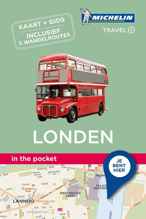 Londen - in the pocket 9789401439817  Michelin In the pocket  Reisgidsen Londen