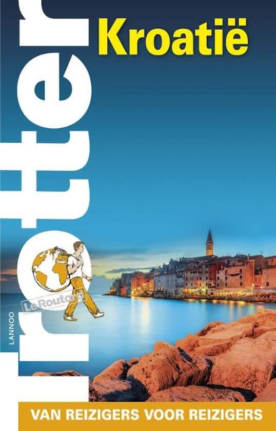 Trotter Kroatië 9789401440073  Lannoo Trotter  Reisgidsen Kroatië